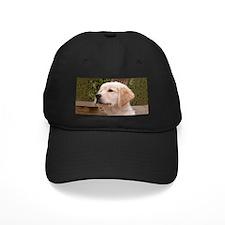 Golden Retiever Pensive Puppy Baseball Cap