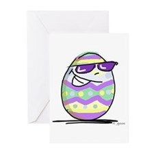 Cool (Easter) Egg Greeting Cards (Pk of 10)