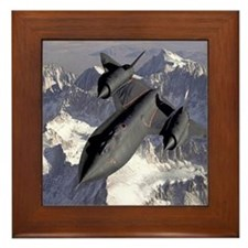 SR71 Blackbird  Framed Tile