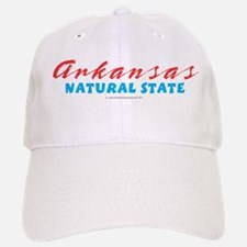 Arkansas - Natural State Baseball Baseball Cap