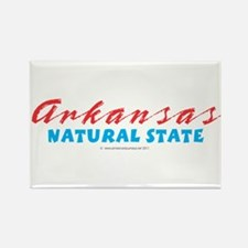 Arkansas - Natural State Rectangle Magnet