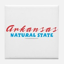 Arkansas - Natural State Tile Coaster
