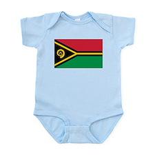 Vanuatu Flag Infant Bodysuit
