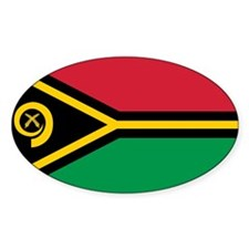Vanuatu Flag Decal