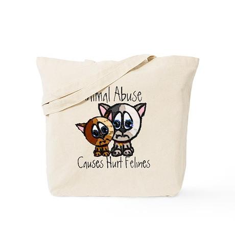 Hurt Felines Tote Bag