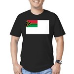 Vanuatu Naval Ensign Men's Fitted T-Shirt (dark)