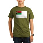 Vanuatu Naval Ensign Organic Men's T-Shirt (dark)