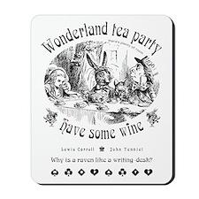Wonderland tea party Mousepad