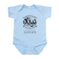 Wonderland tea party Infant Bodysuit