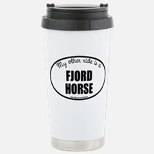 Norwegian Fjord Horse Stainless Steel Travel Mug