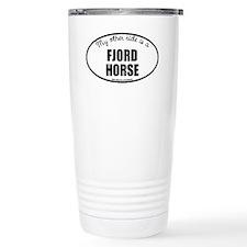 Norwegian Fjord Horse Travel Mug