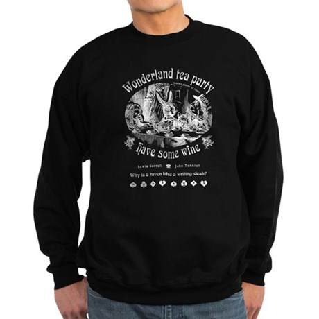 Wonderland tea party Sweatshirt (dark)