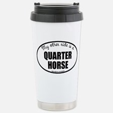 Quarter Horse Stainless Steel Travel Mug