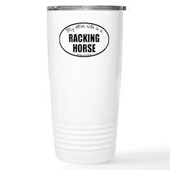 Racking Horse Travel Mug