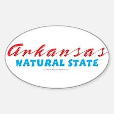 Arkansas - Natural State Decal