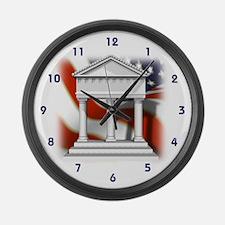 USA Government Large Wall Clock
