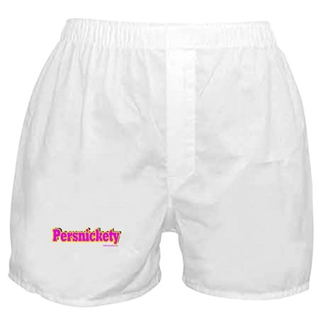 Persnickety (pink) Boxer Shorts