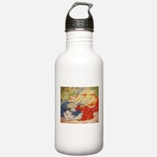 Cats by Franz Marc Water Bottle