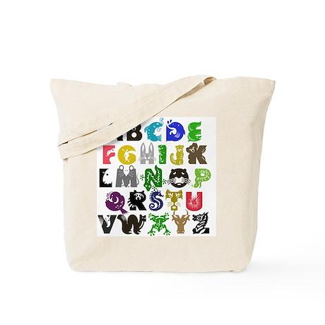 Animal ABCs Tote Bag