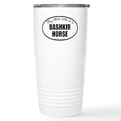 American Bashkir Curly Horse Travel Mug