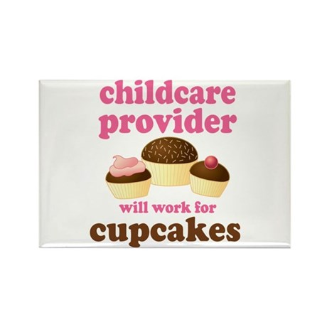 Funny Childcare Provider Rectangle Magnet