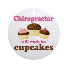 Funny Chiropractor Ornament (Round)