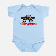 Bryson Monster Truck Infant Bodysuit
