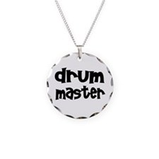 Cool Drum and bass Necklace Circle Charm