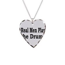 Cool Drum and bass Necklace Heart Charm