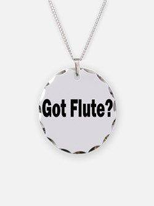 Got Flute? Necklace