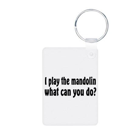 Mandolin Aluminum Photo Keychain