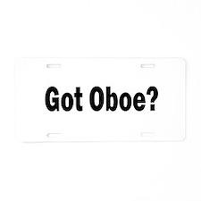 Got Oboe? Aluminum License Plate