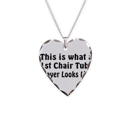 Tuba Master Necklace Heart Charm