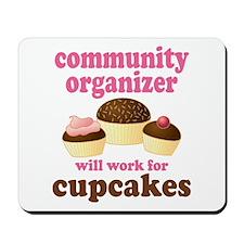 Funny Community Organizer Mousepad