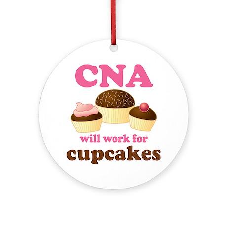 Funny CNA Ornament (Round)