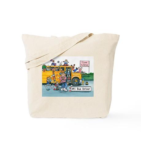 Female Bus Driver Tote Bag