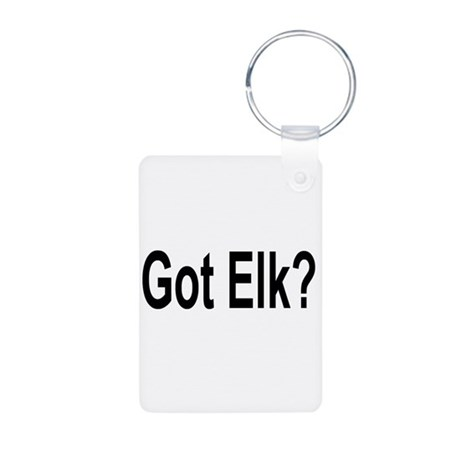 Got Elk? Aluminum Photo Keychain