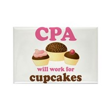 Funny CPA Rectangle Magnet