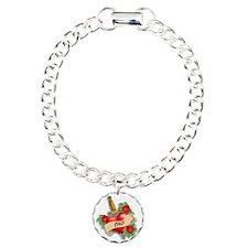Italy Tattoo Charm Bracelet, One Charm