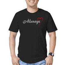 Always Men's Fitted T-Shirt (dark)
