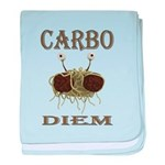 Carbo Diem baby blanket