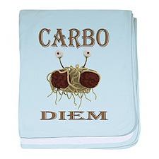 Carbo Diem baby blanket