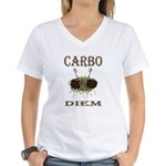 Carbo Diem Women's V-Neck T-Shirt