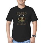 Carbo Diem Men's Fitted T-Shirt (dark)