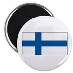 Finland Finish Blank Flag Magnet