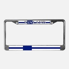 Finland Finish Blank Flag License Plate Frame