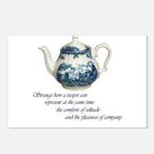 Teapot Postcards (Package of 8)