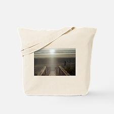 Beach Sunrise Tote Bag