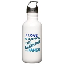 LOVE TO DANCE ARGENTINE TANGO Water Bottle
