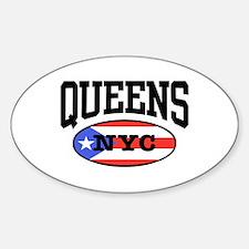 Queens Puerto Rican Decal